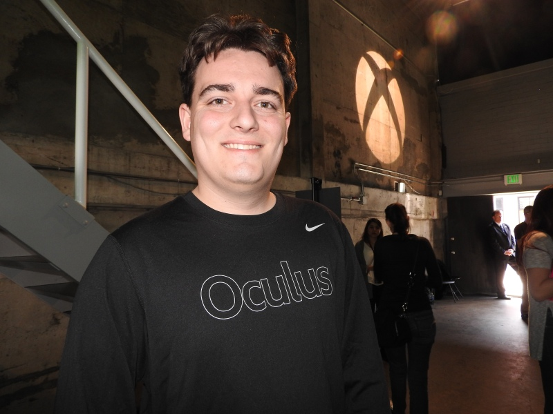 Palmer Luckey, Oculus VR founder.