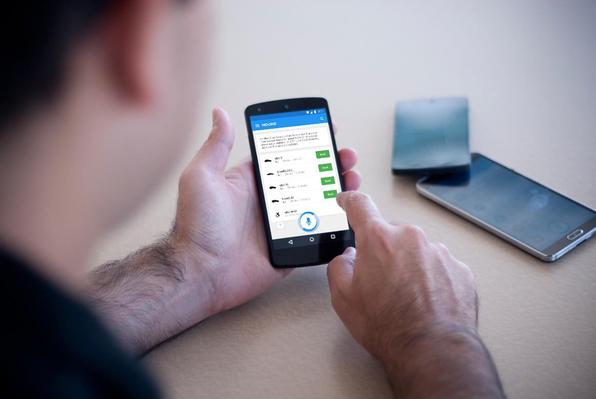SoundHound Hound app Uber partnership