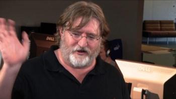 Valve boss Gabe Newell.