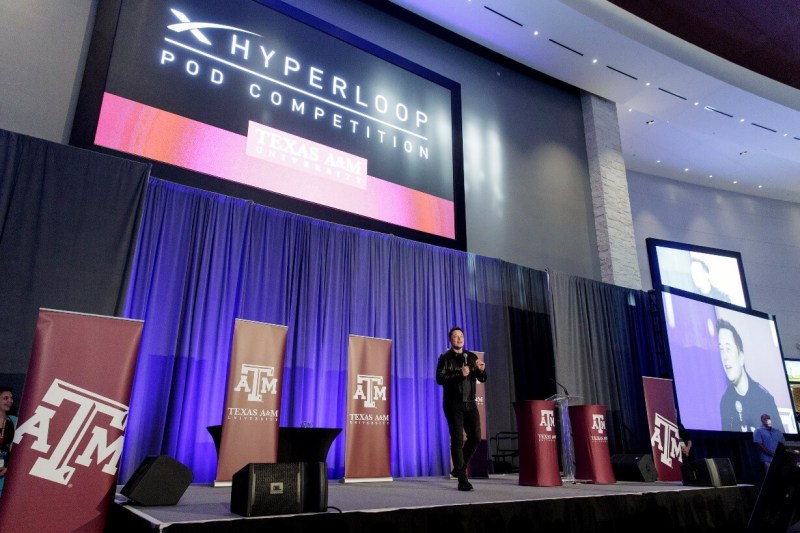 Texas A&M University hosts SpaceX Hyperloop Pod Competition Design Weekend