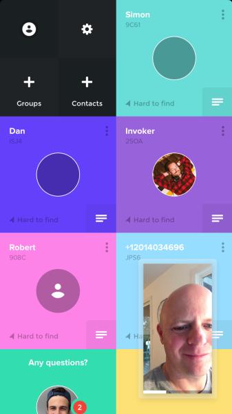 Tribe messaging app