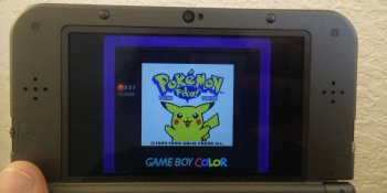 How to get Pokémon Red and Blue's pea soup coloring and a Game Boy border on your 3DS