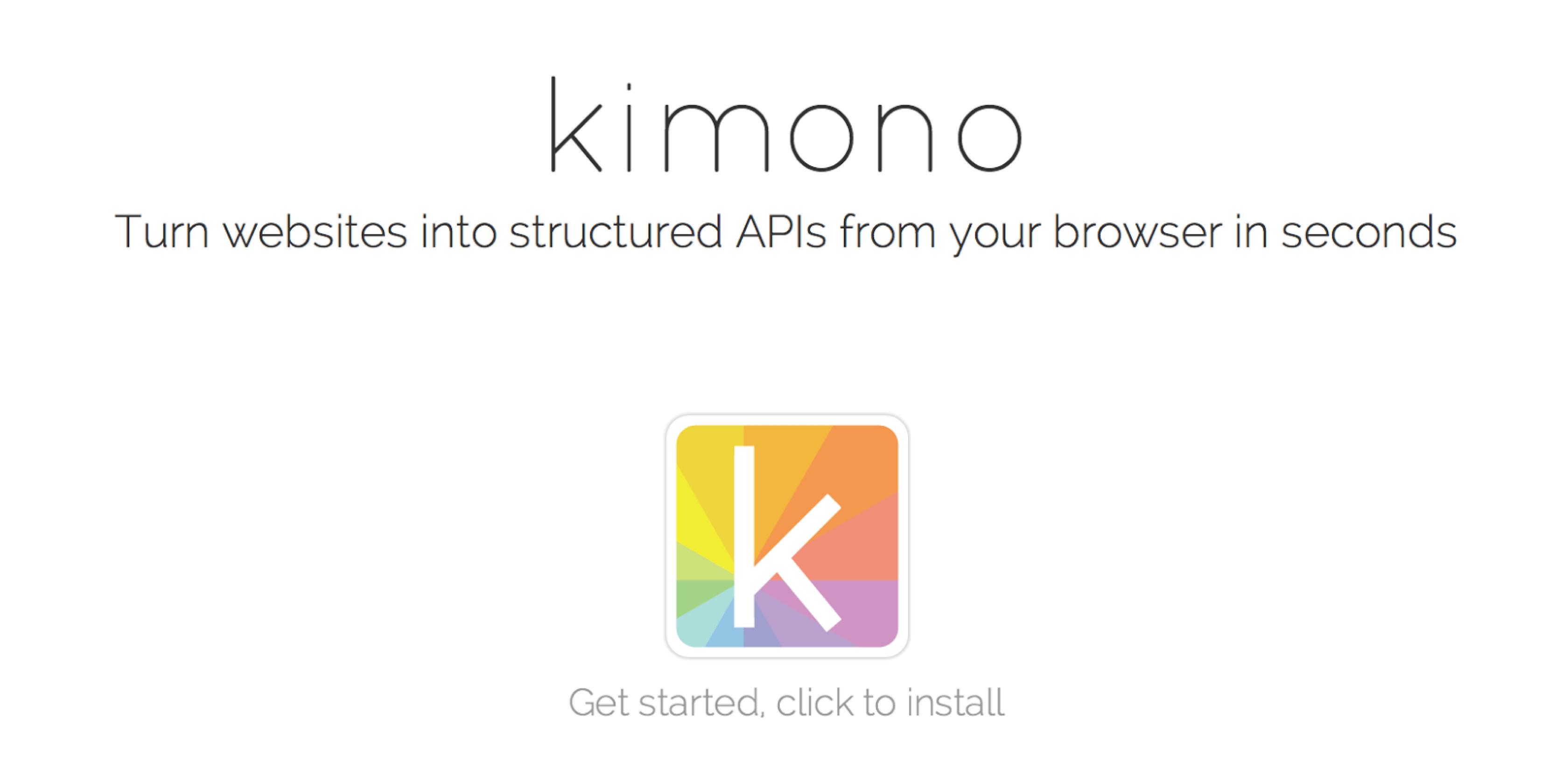 Palantir acquires Kimono Labs, will shutter data collection service
