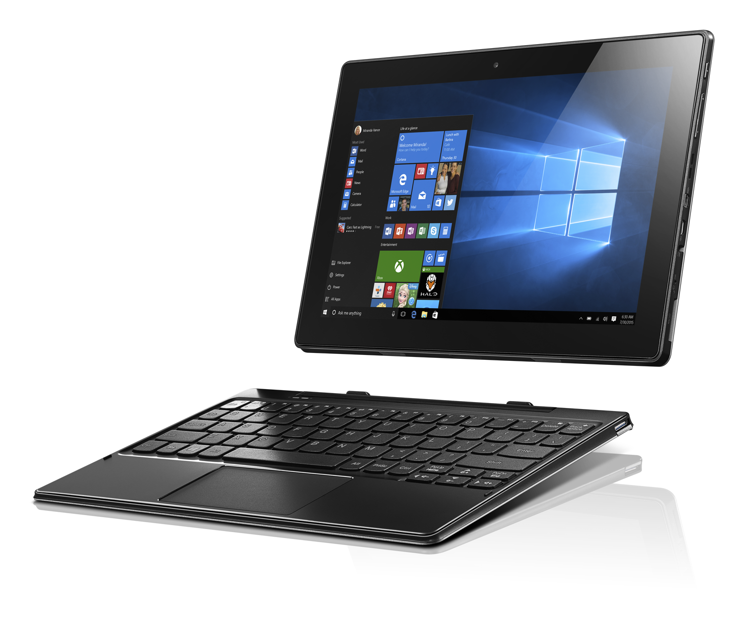 Lenovo announces new Windows 10 laptops, Android tablets and