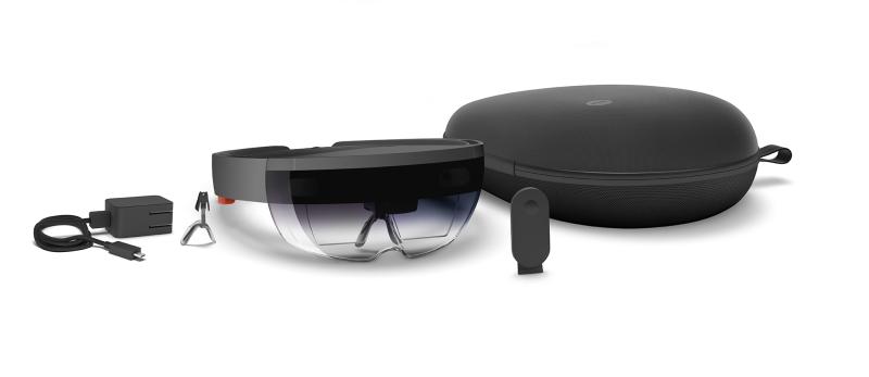 Microsoft's HoloLens Development Edition.
