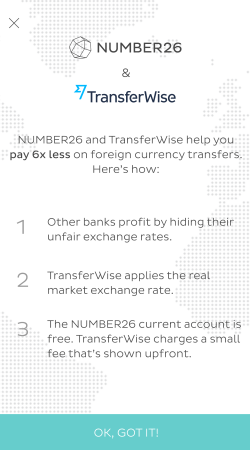 Number 26 & TransferWise