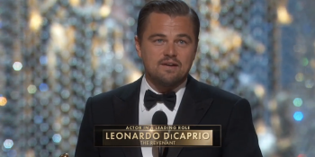 Twitter: Leonardo DiCaprio's Best Actor win sets record for most-tweeted minute at Oscars