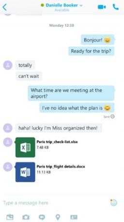 Skype for iOS & Office