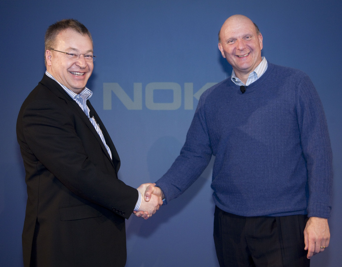 Stephen-Elop_Nokia-President-and-CEO-and-Steve-Ballmer-Microsoft-CEO