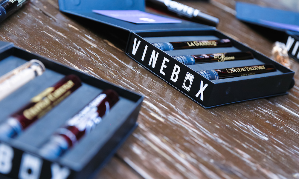 VINEBOX: LAUNCH PARTY