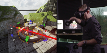 Unreal Engine's latest innovation is about building games while inside virtual reality