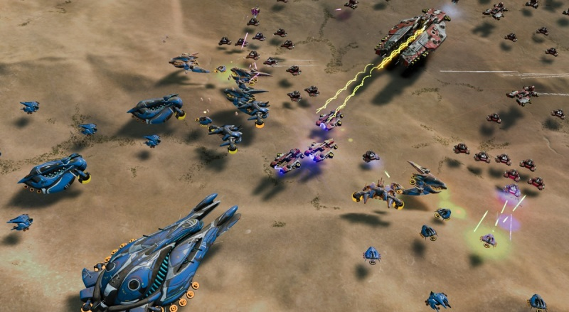 Ashes of the Singularity uses DirectX 12 to accommodate tons of moving objects at once.