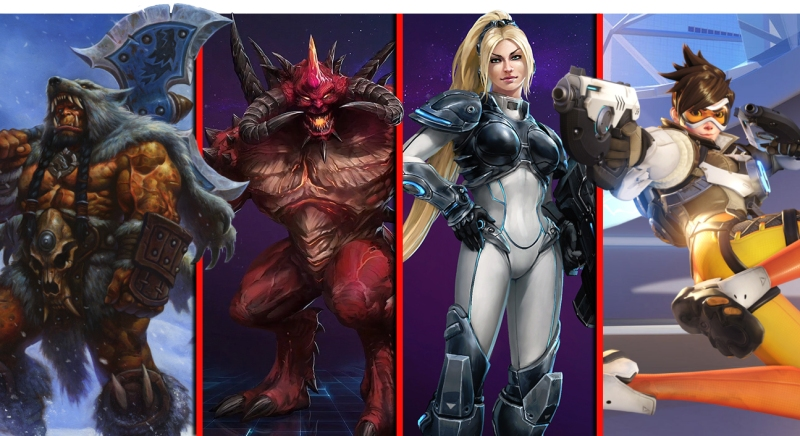 Blizzard has a strong stable of characters.