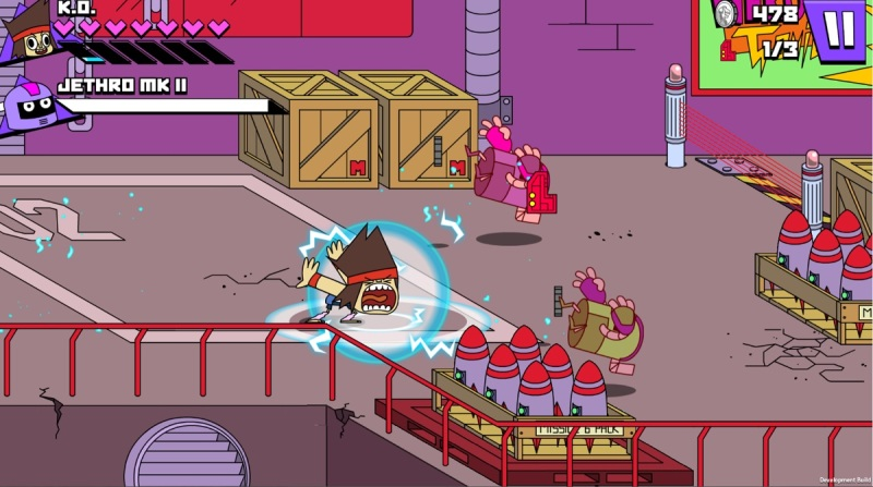 Cartoon Network's newest game is OK K.O.! Lakewood Plaza Turbo.