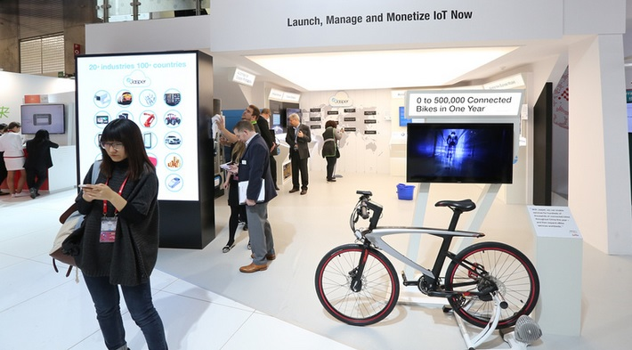 Connected bike -- Mobile World Congress 2016