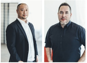 Fifth Journey cofounders Eric Tan and Craig Derrick.