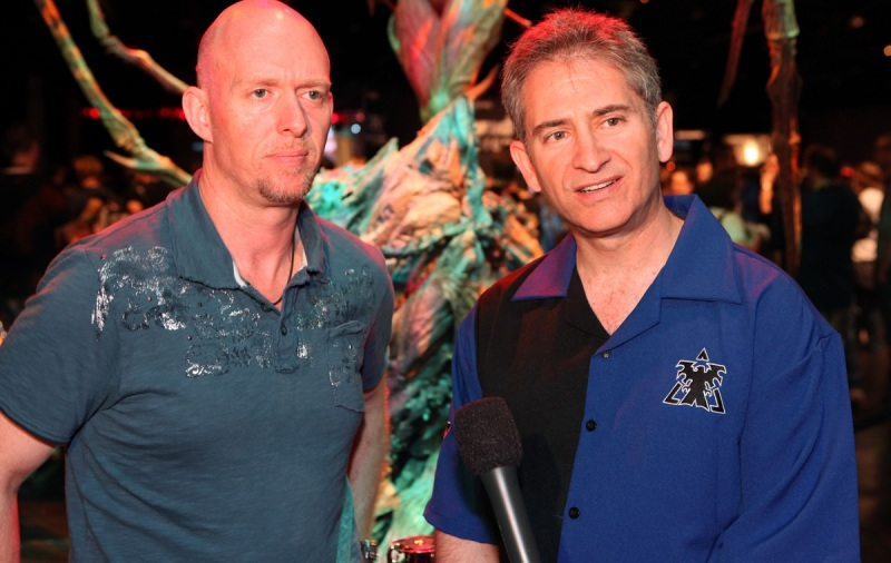 Frank Pearce (left) and Mike Morhaime are the two remaining founders at Blizzard.