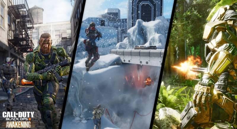 Gauntlet map in Awakening DLC of Call of Duty: Black Ops III.