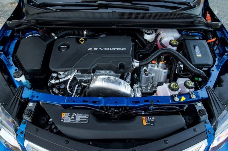 The engine for the 2016 Chevrolet Volt.