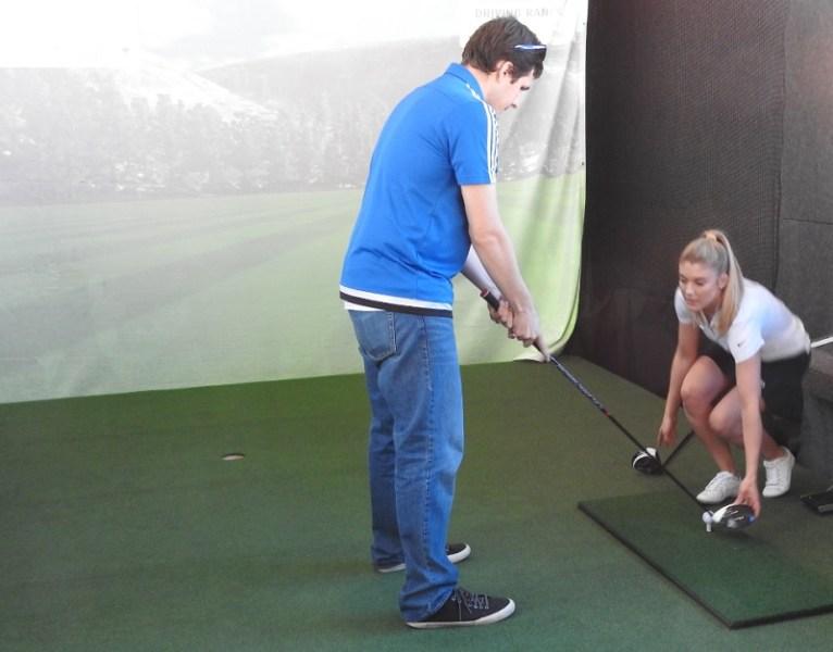 Golfstream driving demo
