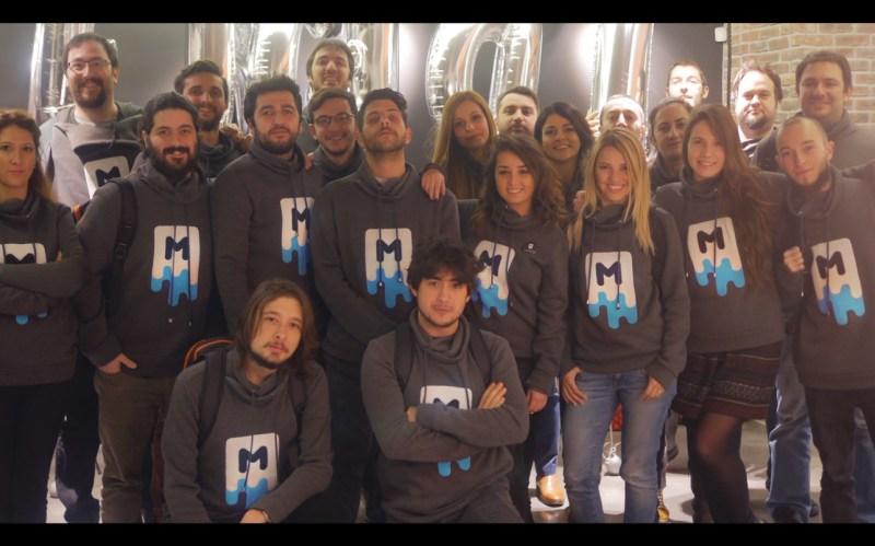 Gram Games team in Istanbul, Turkey.