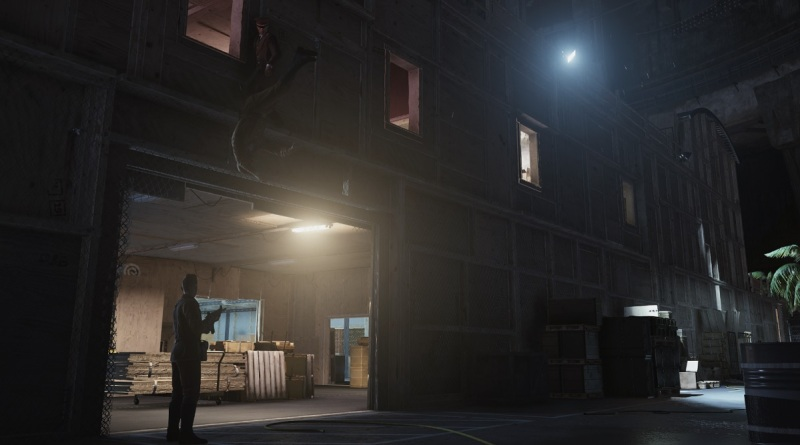 Hitman's prologue has a mission where you have to deal with a ton of guards.