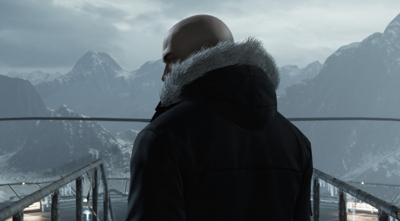 Hitman's Agent 47 at the beginning.