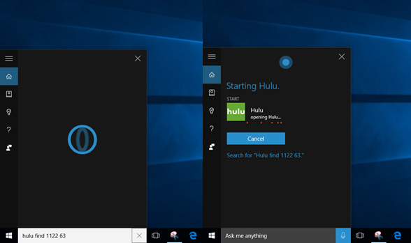Hulu launches universal Windows 10 app with Cortana support