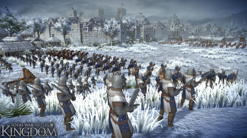 Total War Battles: Kindgom will have changing seasons.