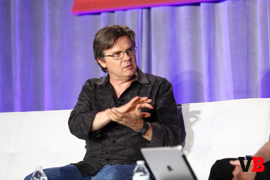 Mark Skaggs, speaking at GamesBeat 2015.