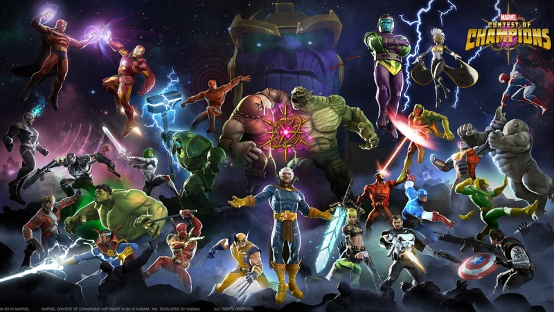Marvel Contest of Champions has generated more than $200M in revenue.