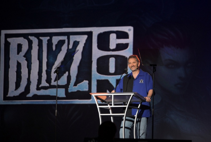 Mike Morhaime, CEO of Blizzard Entertainment, in 2011.