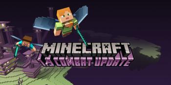 Minecraft's newest update improves combat