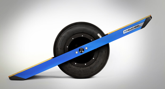 Onewheel has a computer inside, and a high-torque motor.