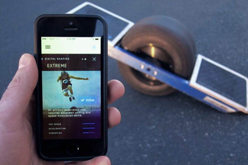 You can update the firmware in the Onewheel via Bluetooth and an app.