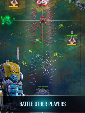 Robocide lets you control robot swarms.