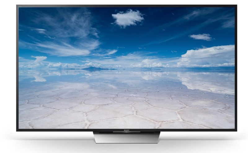 One of Sony's new 4K HDR Ultra HD TVs.