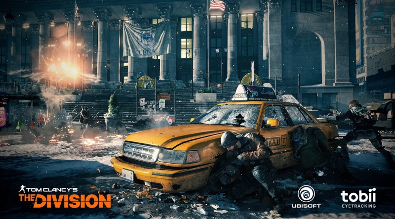 Tobii has built eye-tracking into the controls of the PC version of Tom Clancy's The Division from Ubisoft.