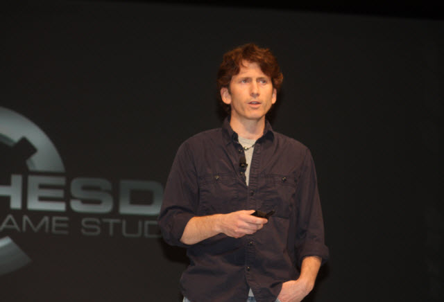 Todd Howard talking about Skyrim at the Dice Summit in 2012.
