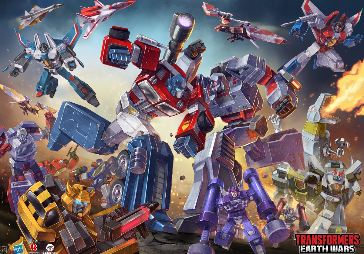 Transformers: Earth Wars is a free-to-play mobile game from Space Ape.