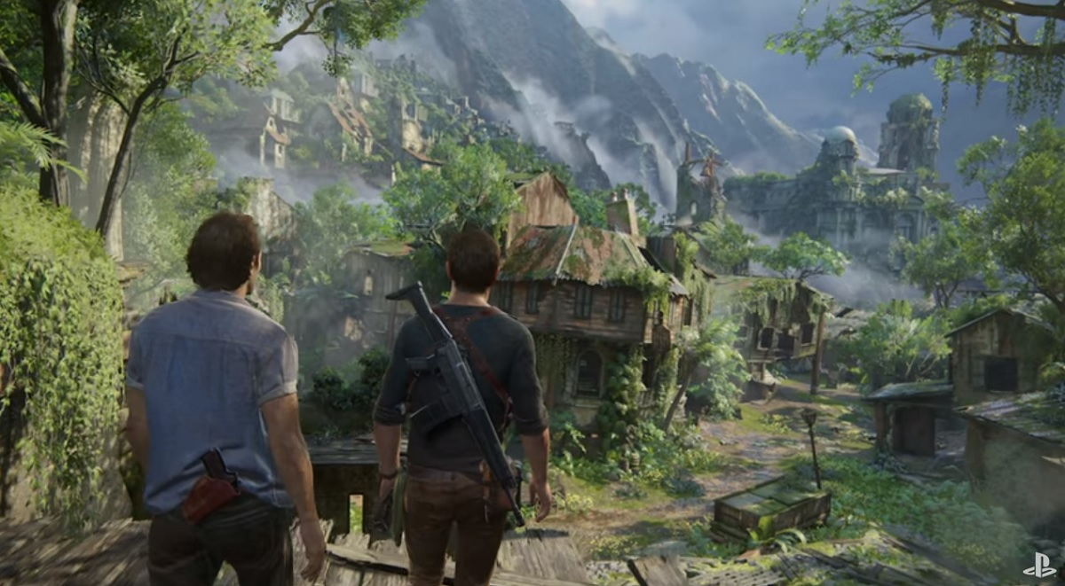 Uncharted 4: A Thief's End is stunning.