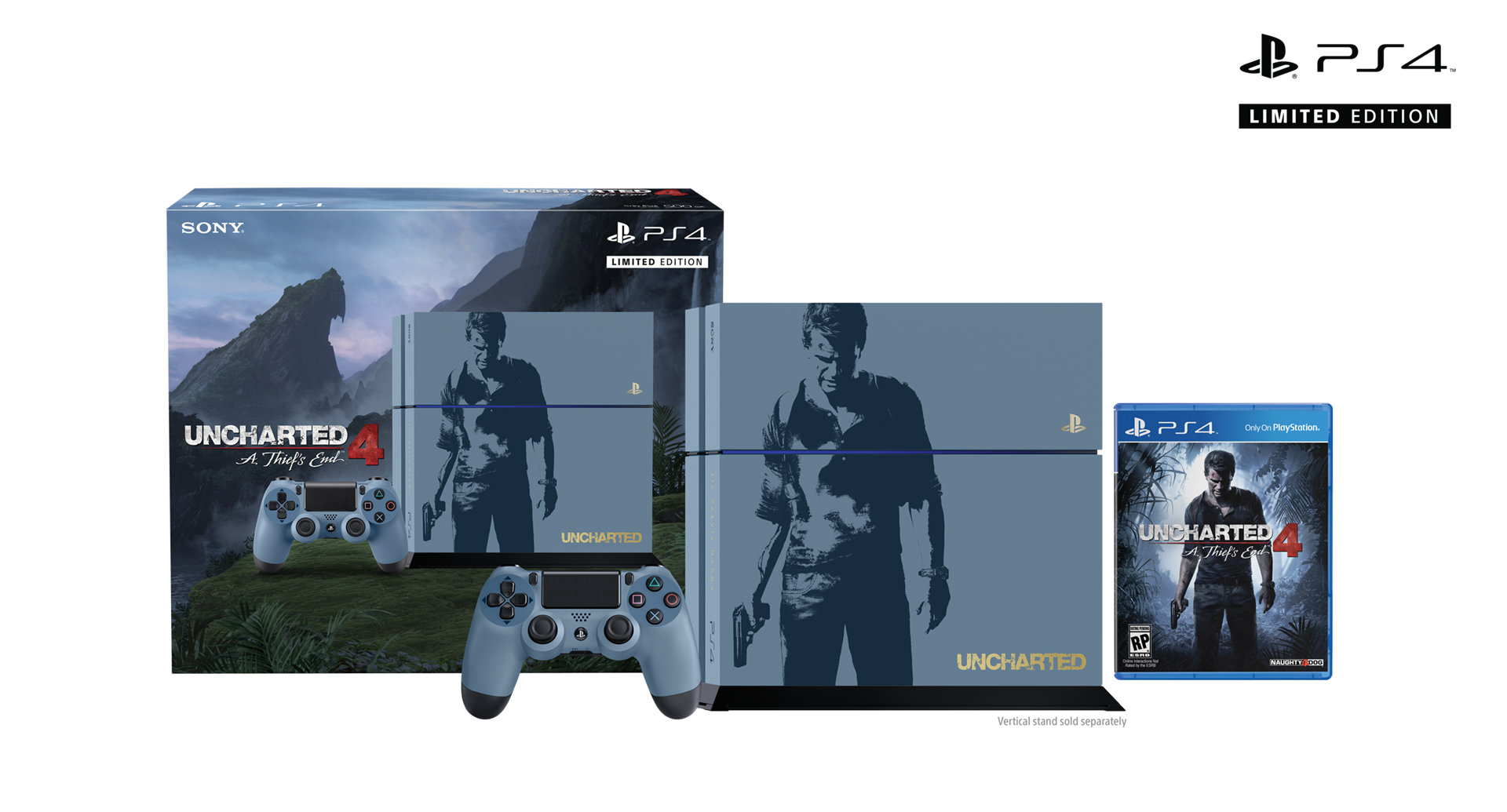 Uncharted 4: A Thief's End gets its own PlayStation 4 bundle