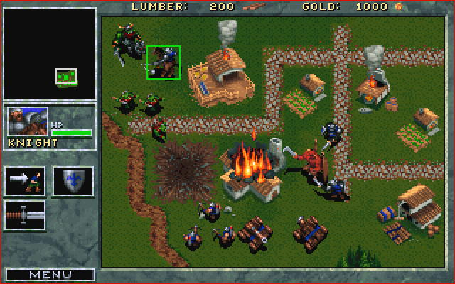 Blizzard's original Warcraft, published in 1994.