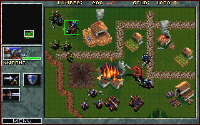 Blizzard's original Warcraft, published in 1994.