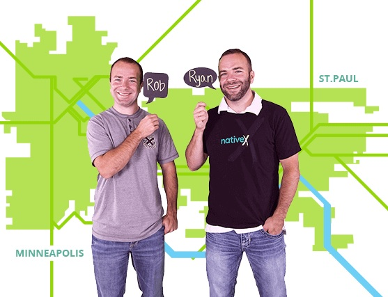 Rob and Ryan Weber built NativeX into a 50-person company in Minneapolis.