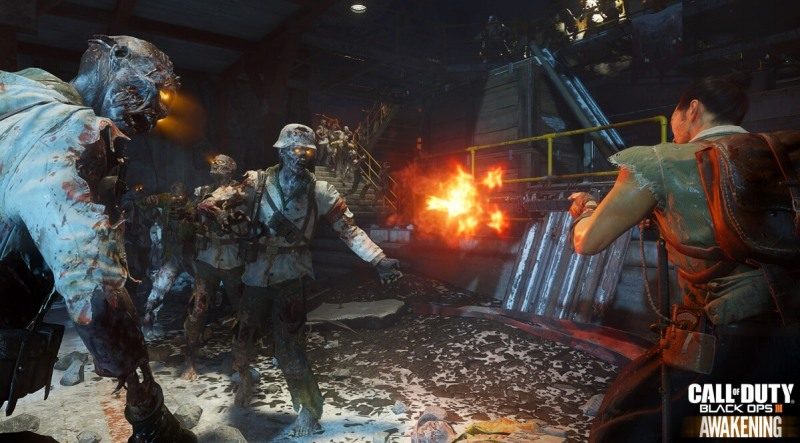 Zombies experience in Awakening DLC for Call of Duty: Black Ops III
