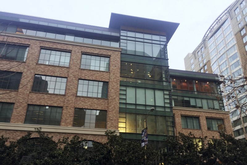 Apple's new offices in San Francisco's high-rent South of Market neighborhood is shown in this undated photo taken recently in San Francisco, California.