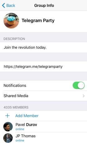 Telegram Public
