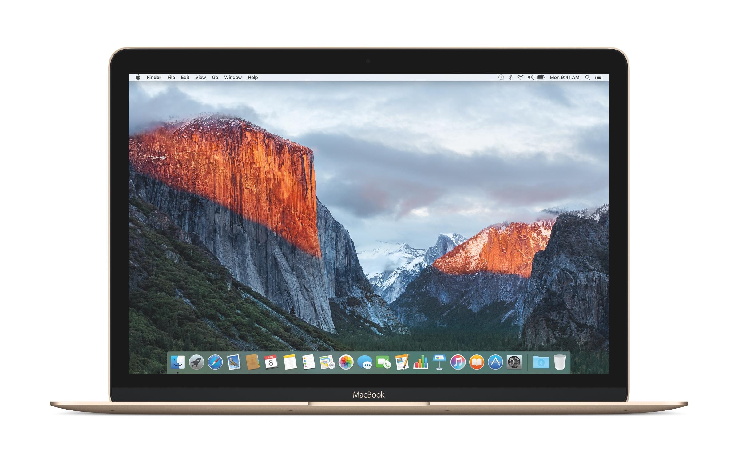 OS X El Capitan.