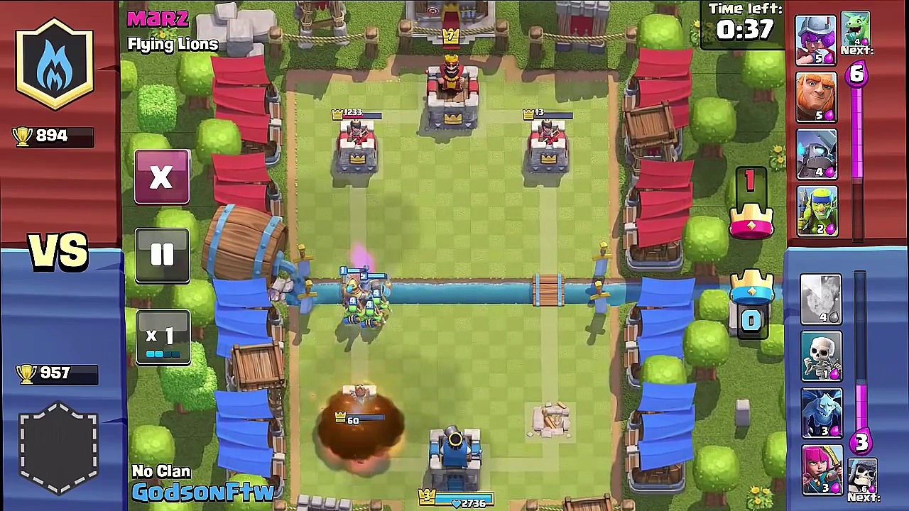 Clash Royale tournament coming this weekend.